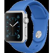 Apple Watch Sport (38 mm) Gümüş Rengi Alüminyum Kasa ve Kraliyet Mavisi Spor Kordon