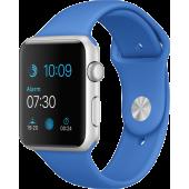 Apple Watch Sport (42 mm) Gümüş Rengi Alüminyum Kasa ve Kraliyet Mavisi Spor Kordon