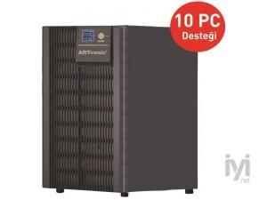 2KVA, On-Line, 4 Adet 12V 9AH Akü, LCD Ekran, 10 PC 5 Dk , UPS (ARN_OPTIMUM-2KVA) Artronic