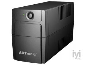 650VA, Line Interaktif, 1 Adet 12V 7AH Akü, 1 PC 20 Dk , UPS (ARN_ART-ECO-650VA) Artronic