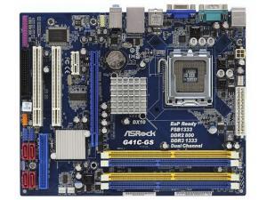 G41C-GS ASRock