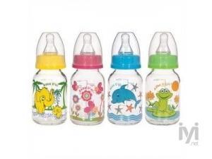0 BPA Desenli Cam Biberon 125 ml Bebedor