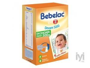 3 Devam Sütü (Biberon Maması) 500 gr Bebelac