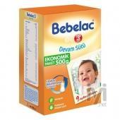 Bebelac 3 Devam Sütü (Biberon Maması) 500 gr