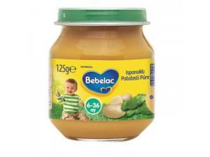 Bebelac Kavanoz Maması Ispanaklı Patates Püresi