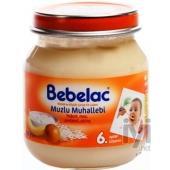 Bebelac Kavanoz Maması Muzlu Muhallebi 6 Aydan Itibaren