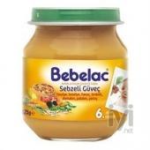 Bebelac Sebzeli Güveç Püresi Kavanoz Maması 125gr