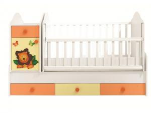 Aslan Bebek Odası Büyüyen Beşik TR1816 Belis