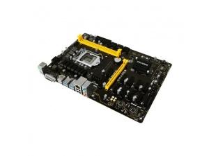 Biostar TB250-BTC PRO 12 Adet Ekran Kartı Girişli 2400MHz DDR4 Soket 1151 ATX Mining