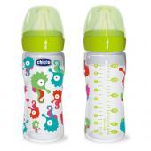 Chicco 0 BPA Ironik Silikon Akis Ayarli Biberon 250ml