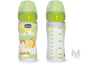 %0 BPA Polikarbonat Biberon Silikon Uçlu Romantik Akış 250 ml Chicco