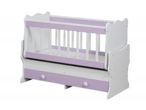 Bebek Beşik 60x120 Içten Sallanır Yatak Cicila