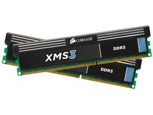 8GB (2x4GB) DDR3 1600MHz CMX8GX3M2A1600C9 Corsair