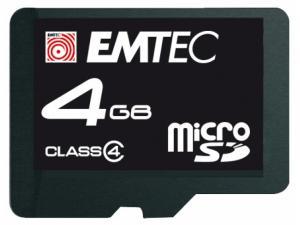 microSDHC 4 GB Emtec