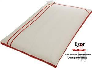 Wollmatt Oyun Parkı Yatağı Kırmızı 60*120 XRWM Exor Baby