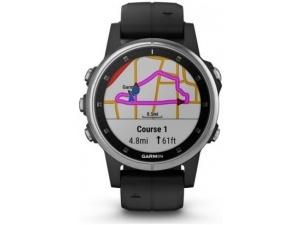 Fenix 5S Plus Silver Multispor Akıllı Saat Siyah Garmin