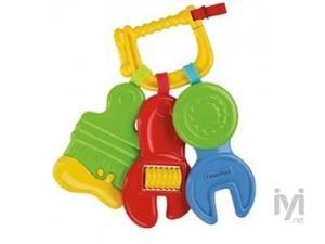 Anahtar Şekilli Bebek Diş Kaşıyıcı Çıngırak Fisher-Price