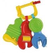 Fisher-Price Anahtar Şekilli Bebek Diş Kaşıyıcı Çıngırak