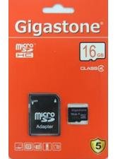 MicroSDHC 16GB Gigastone