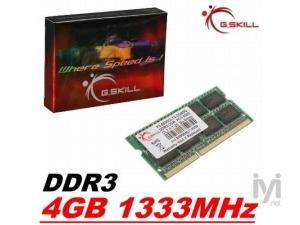 4GB DDR3 1333MHz F3-10666CL9S-4GBSQ GSKILL