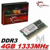GSKILL 4GB DDR3 1333MHz F3-10666CL9S-4GBSQ