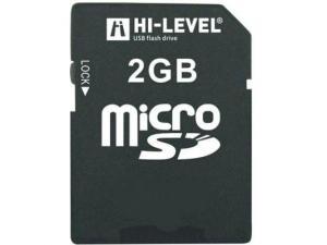 MicroSD 2GB Hi-Level