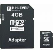 Hi-Level MicroSDHC 4GB HLV-MCSDHC4-4G