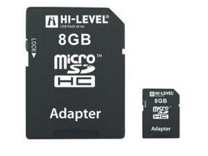 MicroSDHC 8GB Hi-Level