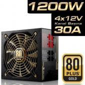 Highpower 1200W Plus Serisi 20+4 Pin 13.5cm Fan 80 GOLD Modüler AktifPFC