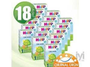 1 Organik 300 gr 18 Adet Hipp