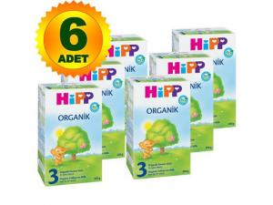 1 Organik Bebek Mamasi 300 Gr 6`lı Paket Hipp