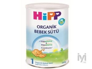 1 Organik Combiotik Bebek Sütü 350 gr Hipp