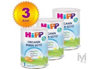1 Organik Combiotik Bebek Sütü 350 gr 3 Adet Hipp
