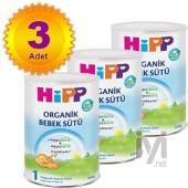 Hipp 1 Organik Combiotik Bebek Sütü 350 gr 3 Adet