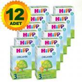 Hipp 2 Organik 300 Gr 12 Adet