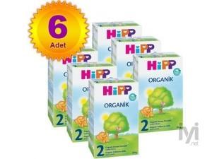2 Organik 300 gr 6 Adet Hipp