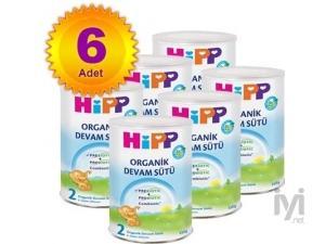 2 Organik Combiotik Bebek Sütü 350 gr 3 Adet Hipp