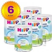 Hipp 2 Organik Combiotik Bebek Sütü 350 gr 3 Adet