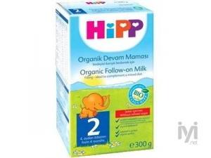 2 Organik Devam Sütü (Bebek Maması) 300 gr Hipp