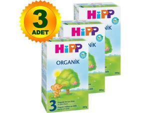 3 Organik 300 Gr 3 Adet Hipp