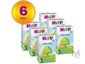 3 Organik 300 gr 6 Adet Hipp
