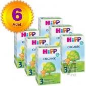Hipp 3 Organik 300 gr 6 Adet