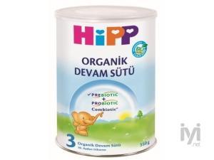 3 Organik Combiotik Bebek Sütü 350 gr Hipp