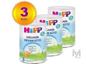 3 Organik Combiotik Bebek Sütü 350 gr 3 Adet Hipp