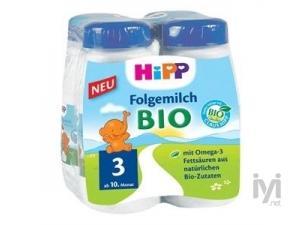 3 Organik Devam Sütü 250ml 4`lu Paket Hipp