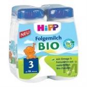 Hipp 3 Organik Devam Sütü 250ml 4`lu Paket