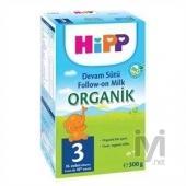 Hipp 3 Organik Devam Sütü (Bebek Maması) 300 gr