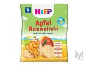 Diş Kaşıyıcı Organik Pirinçli Elmalı Bebek Gofreti HIP-3177 Hipp
