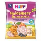 Hipp Diş Kaşıyıcı Yabanmersinli Pirinçli Bebek Gofreti
