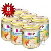 Hipp Kavanoz Maması Organik Elmalı Sütlaç 200 Gr 6`lı Paket